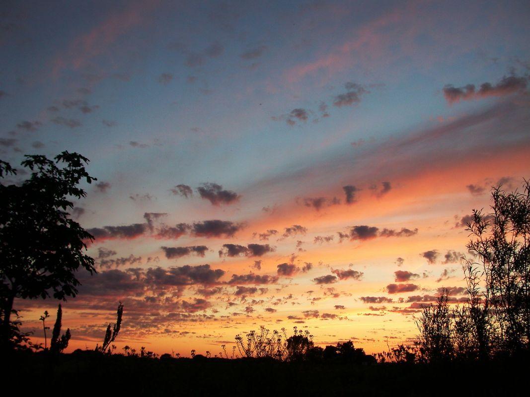 Sonnenaufgang ueber Loekker