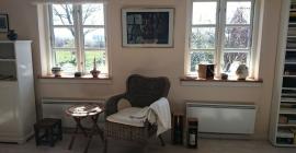 Ferienhaus Wohnstube Suedfenster